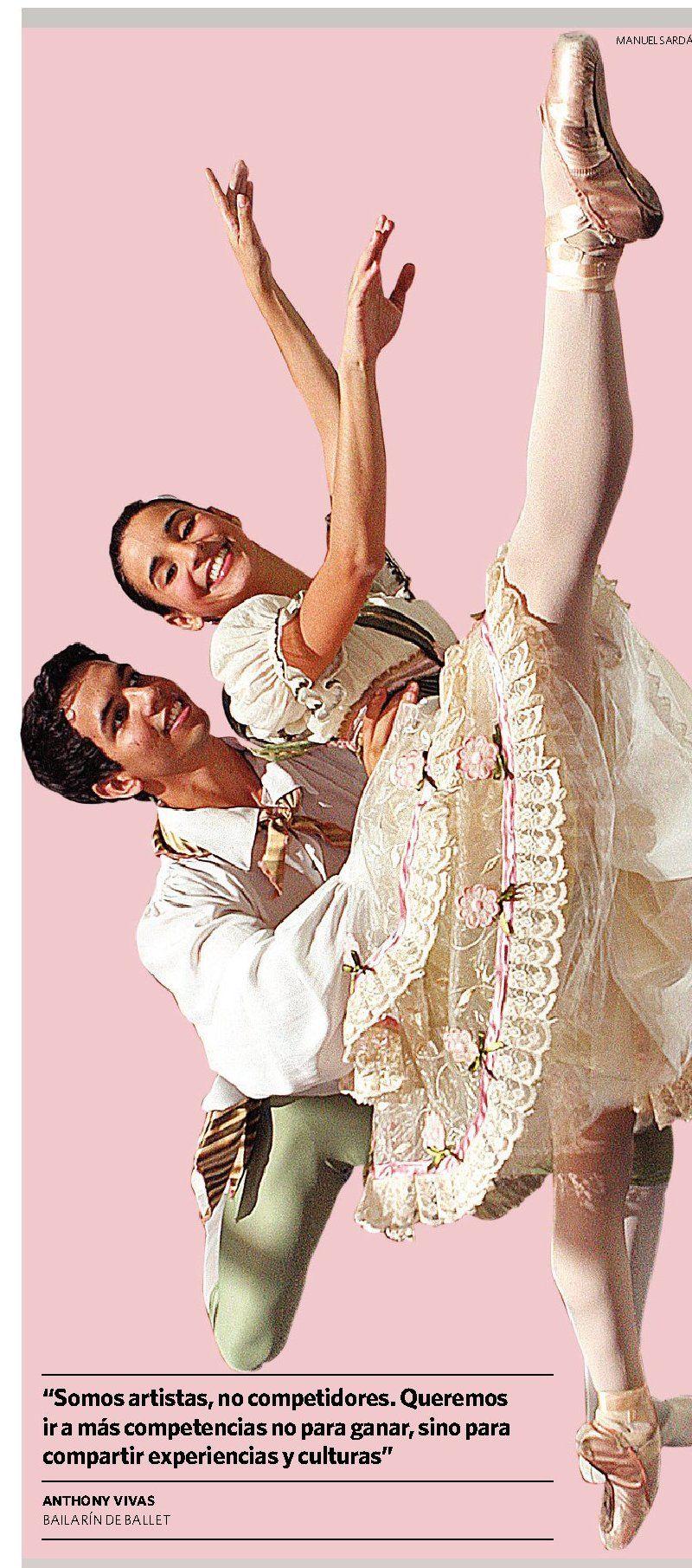 Anthony Vivas y Ana Karina Enríquez