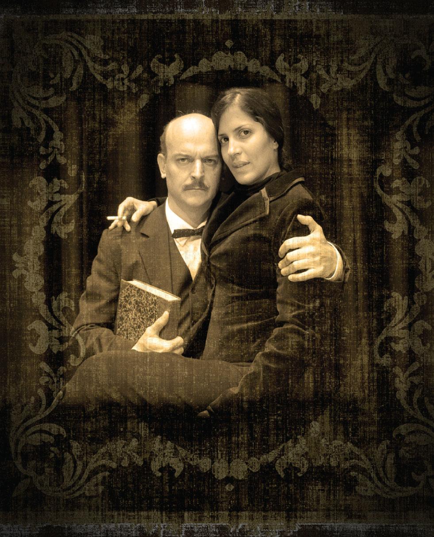 Mariaca Semprún y Luigi Sciamanna