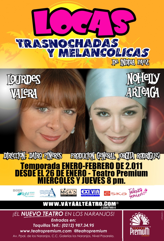 Nohely Arteaga y Lourdes Valera