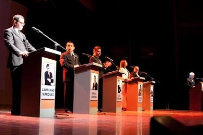 Luis Chataing, Mariela Celis, Laureano Márquez, Emilio Lovera, Leonardo Padrón