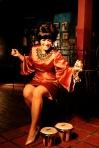 A pesar de que el trabajo de convencer al público de que es La Lupe quien está en el escenario tarda en suceder, el click que hace Mariaca Semprún con el público es cautivador FOTO: CORTESÍA