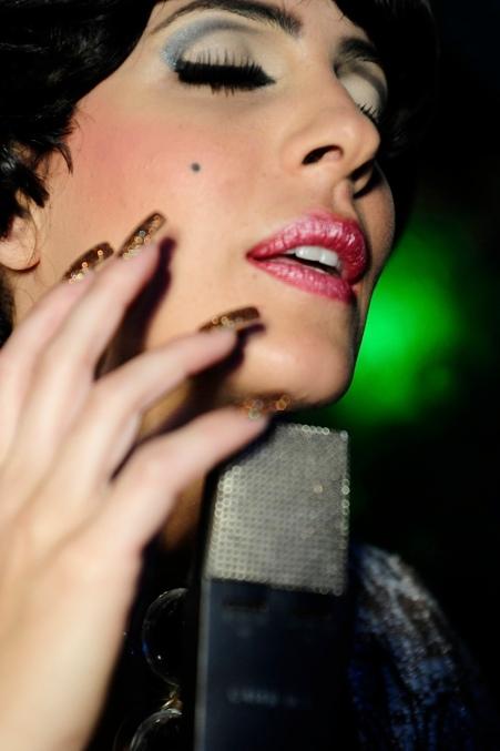 Mariaca Semprún transforma hasta su registro vocal para dar vida a la cantante cubana FOTO: CORTESÍA