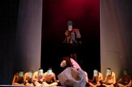 La soberbia fue una pieza coreografiada por Armando Díaz FOTO: VÍCTOR ALEXANDRE