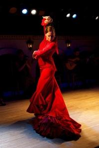 """Luisana Ocque, mejor conocida como """"La Polaca"""" en el mundo flamenco, es una de las bailaoras más reconocidas del país FOTO: CORTESÍA"""