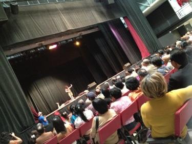Dependiendo de la disposición de la sala, un espectáculo puede tener hasta 1600 butacas FOTO: MAR