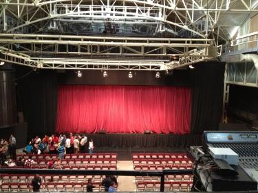 El teatro tiene un área de 1300 metros cuadrados FOTO: MAR