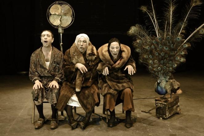 En el montaje actúan Gaspar Campuzano, Francisco Sánchez y Enrique Bustos FOTO: CORTESÍA AGUSTÍN HURTADO