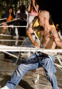 Rommel Nieves de 100% Impro es uno de los invitados a esta gala de danza FOTO: FABIÁN CAMBERO