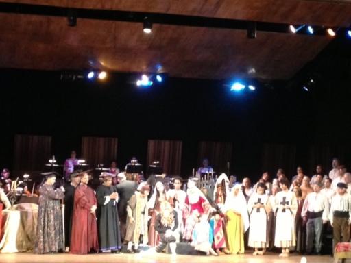 """El Teatro Municipal de Caracas comenzó su temporada 2013 del ciclo de ópera con """"Los Martirios de Colón"""", de Aquiles Nazoa y con música de Federico Ruiz FOTO: MAR"""
