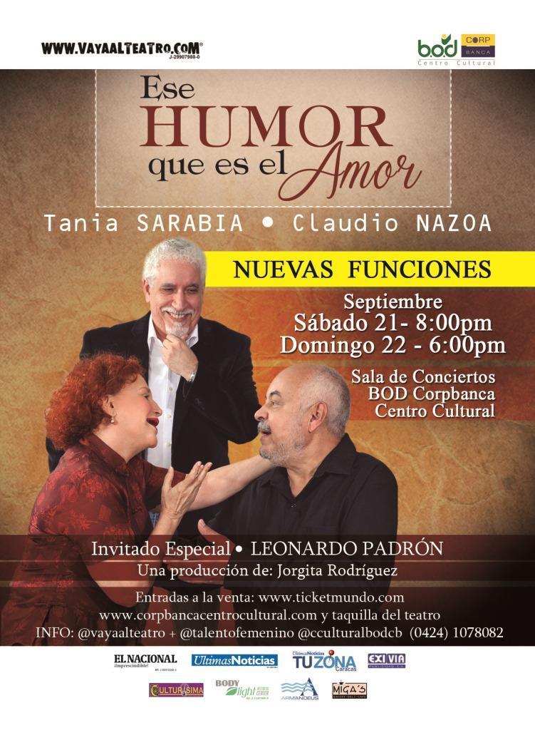 Más funciones Humor Amor