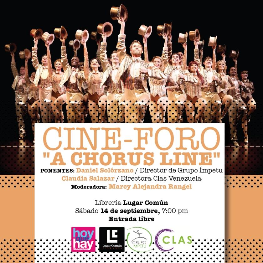 "Cine Foro ""A Chorus Line"""