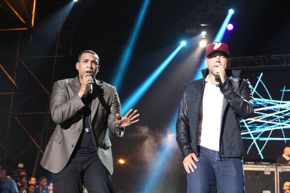 Don Omar cantó por una hora e invitó al escenario a Natty Natasha. El Potro solo hizo los coros de algunas canciones, nada protagónico | Foto: cortesía