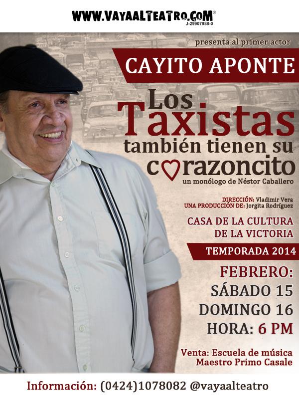 Cayito Aponte Los taxistas también tienen su corazoncito