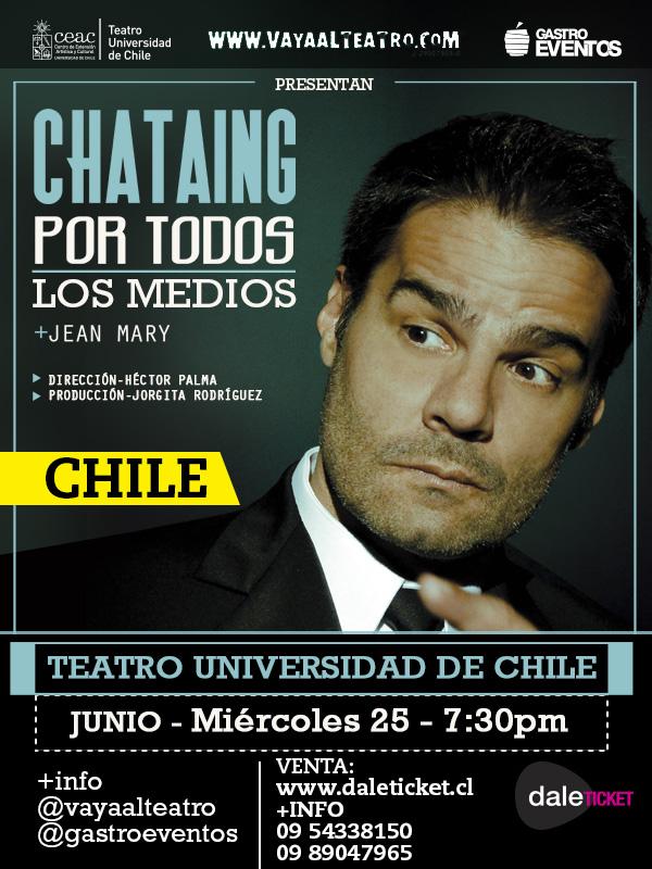 Por todos los medios Luis Chataing Chile