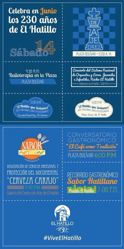 Cronograma de actividades 230 El Hatillo