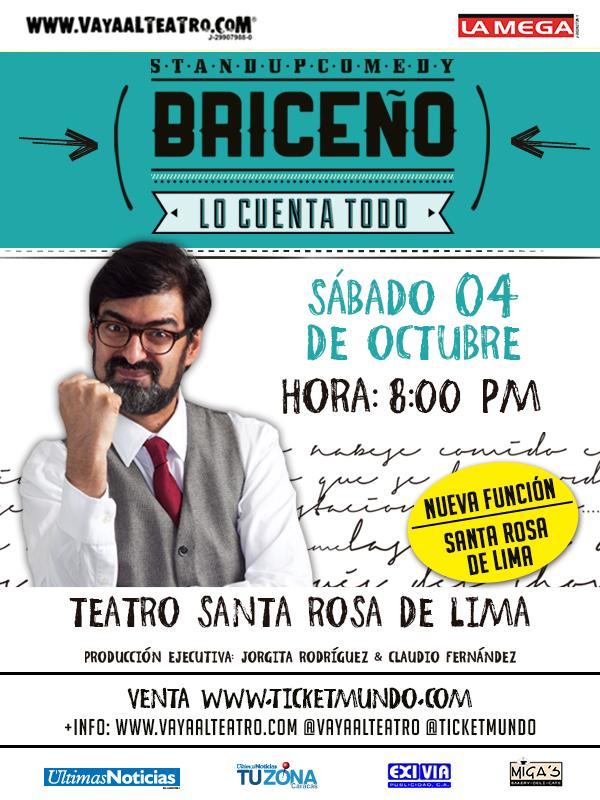 Briceño lo cuenta todo Santa Rosa de Lima