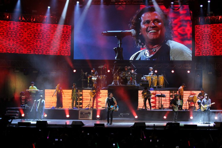 C4Trío tocó La Tierra del Olvido y Zumbacumlaude en el concierto   Foto: Daniel Lara