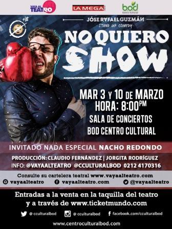 No quiero show 2015