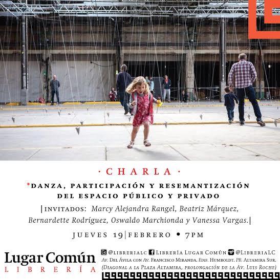 Danza y resemantización del espacio público en Caracas