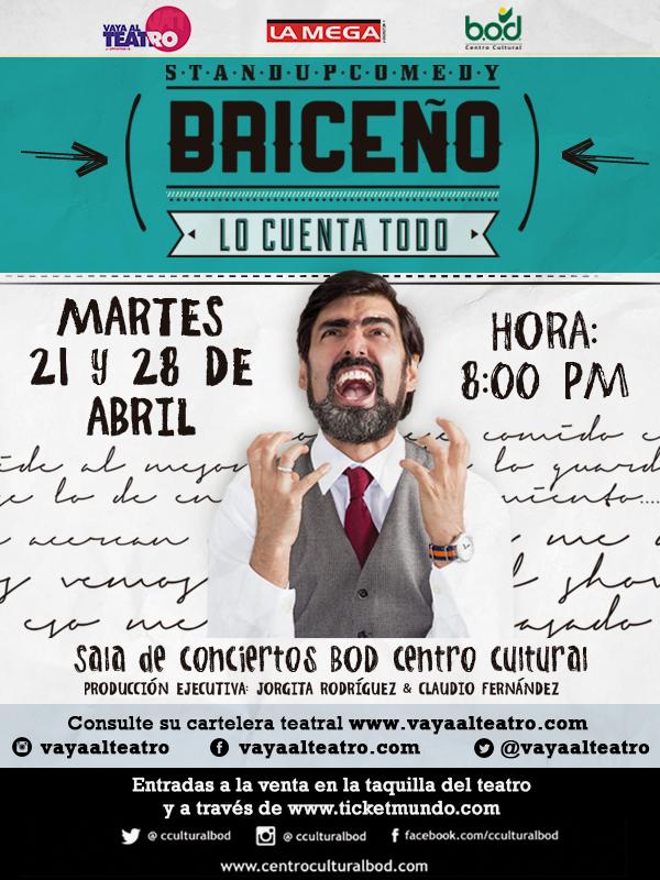 Briceño lo cuenta todo Ricardo del Bufalo