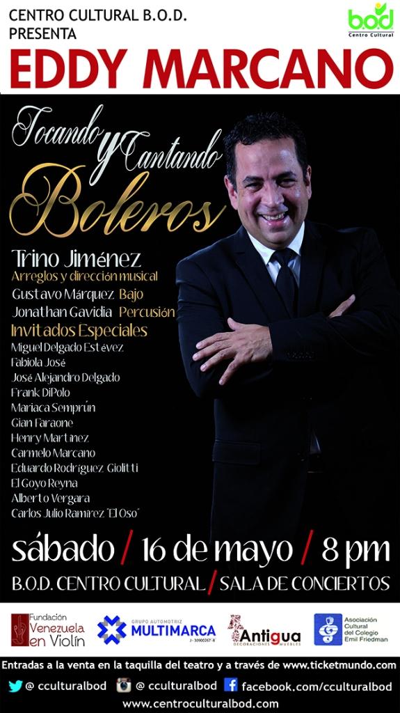 Eddy Marcano Boleros