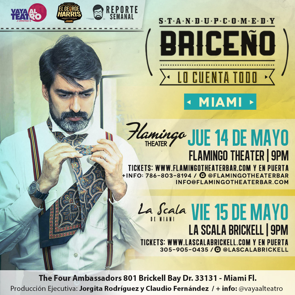 Briceño lo cuenta todo Miami