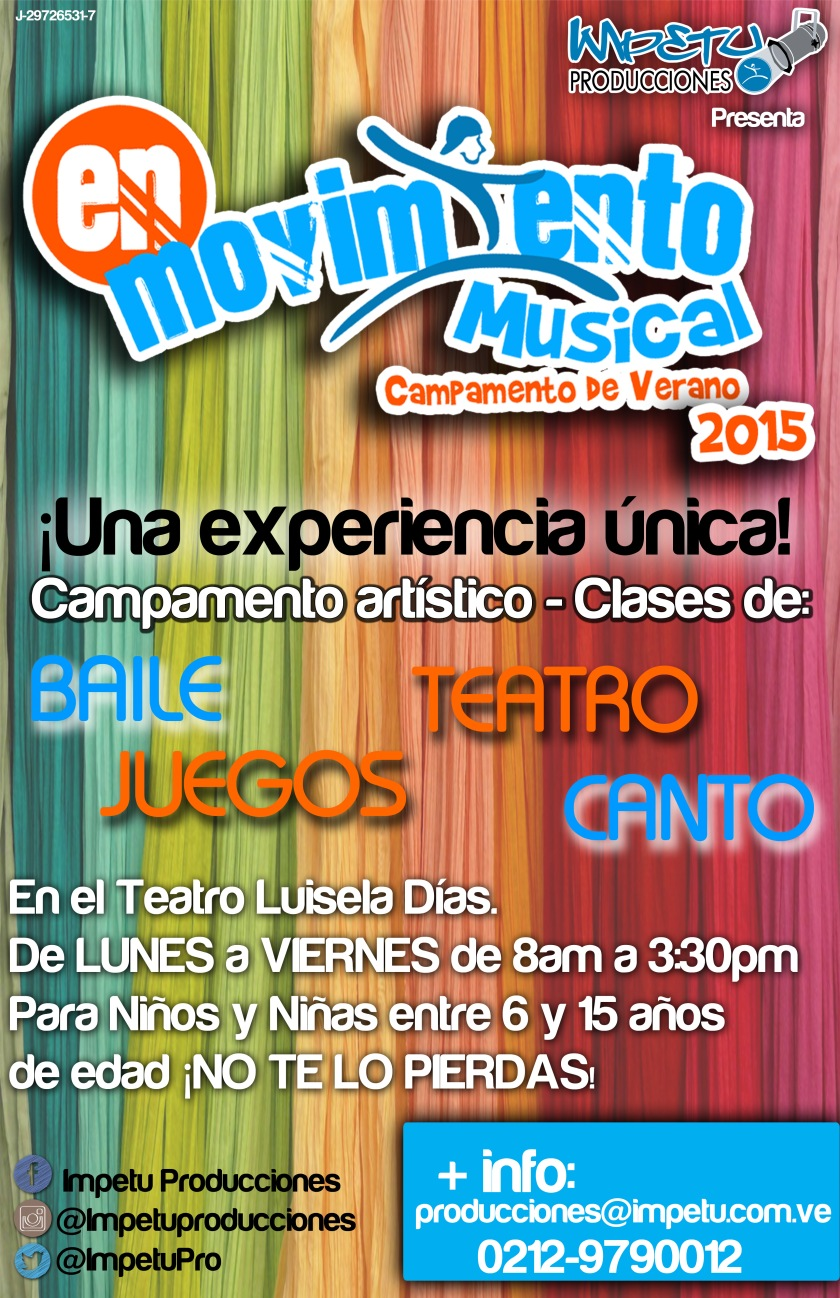 Campamento En Movimiento Musical