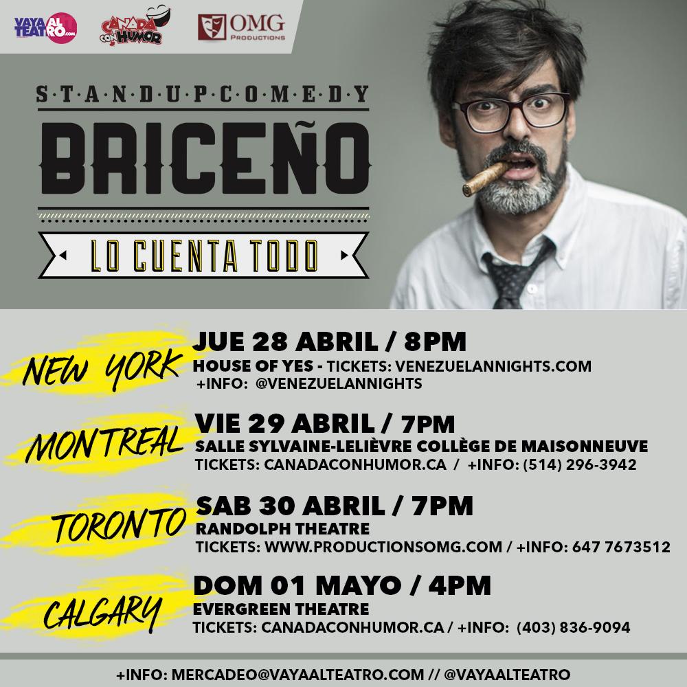 BRICEÑO CAN y new york IG compartido