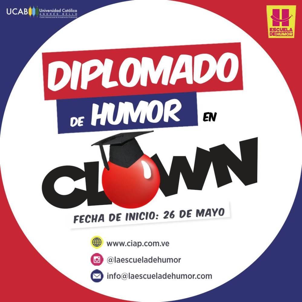 Diplomado de Humor en Clown