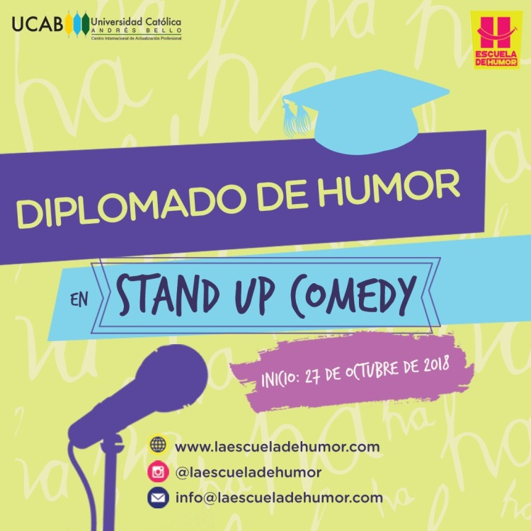 Diplomado de Humor en Stan Up Comedy